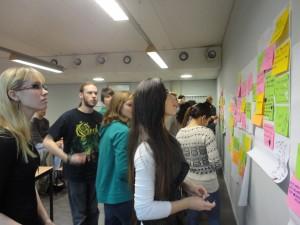 ideeën brouwen met studenten Haagse Hogeschool