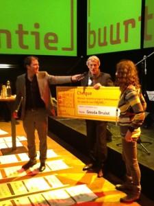 prijs Gouda Bruist 13 dec 2013 buurtalliantie