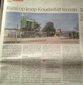 De Krant van Gouda 23-4-2015